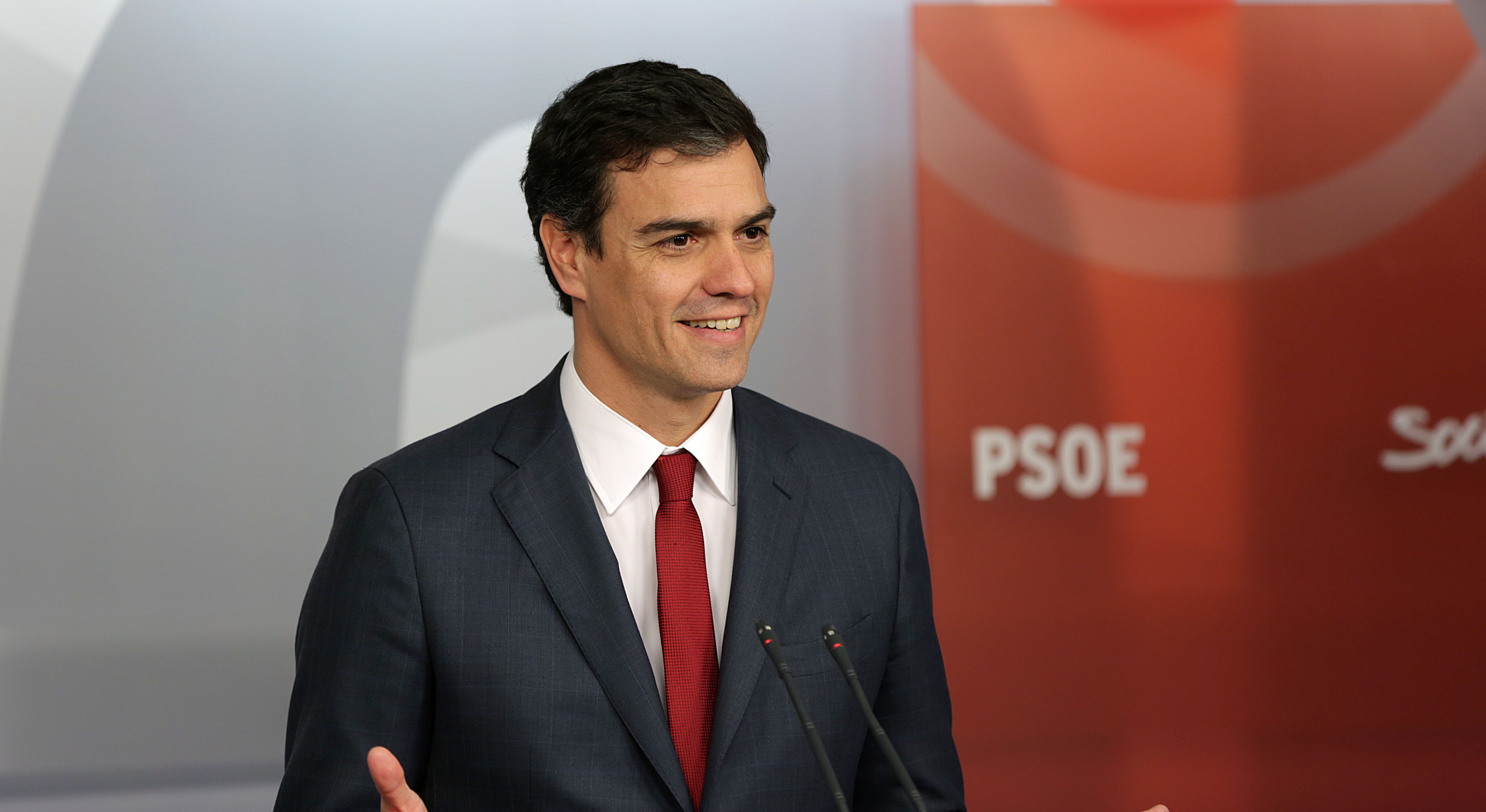 PSOE leader Pedro Sanchez