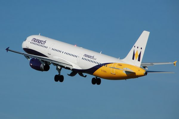 monarch airlines aircraft