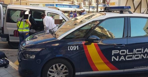 Five arrested on suspicion of robberies in Alicante industrial estates